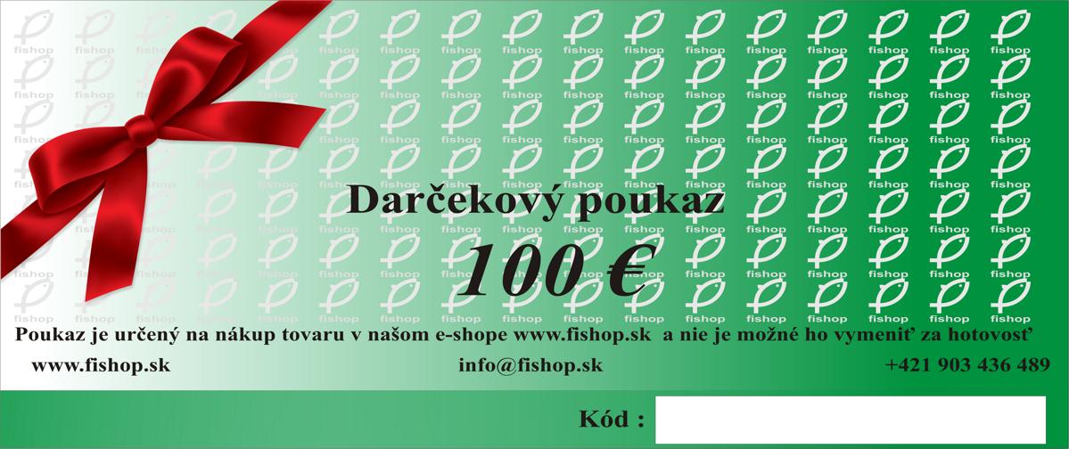 c749477b2 Darčekový poukaz v hodnote 100 EUR
