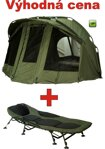 Lehátko Giants Fishing FLX Plus 8Leg Bedchair + Bivak Giants Fishing Luxury Bivvy 2-3 Man
