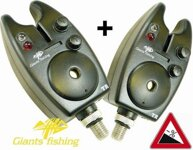 Signalizátor Giants Fishing Bite Alarm TR ( 12V Baterie) 1+1