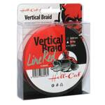 Šnúra Hell-Cat Braid Line Vertical Red 0.44mm, 41kg, 150m