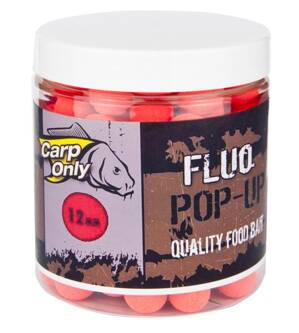 CARP ONLY FLUO POP UP BOILIE RED 80g