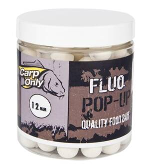 CARP ONLY FLUO POP UP BOILIE WHITE 80g
