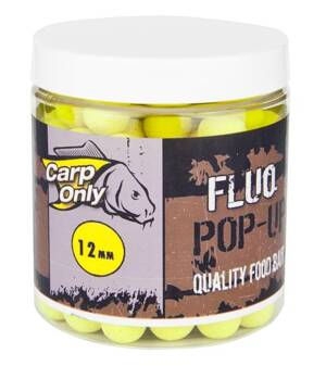 CARP ONLY FLUO POP UP BOILIE YELLOW 80g