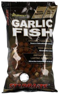 STARBAITS Boilies Concept Garlic Fish - 2,5kg