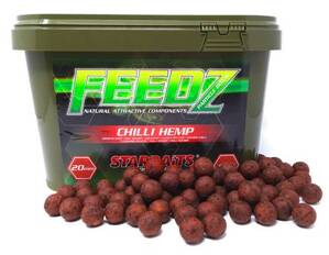 STARBAITS Feedz Boilies 4kg vedro - 20mm