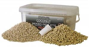 STARBAITS Pelety mix 2kg PRO Coconut