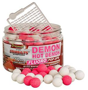STARBAITS Boilies pop up Fluo Hot Demon 80g