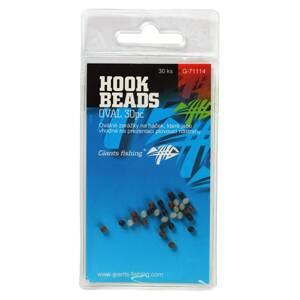 Giants Fishing Zarážka na háčik Hook Beads Oval, 30ks