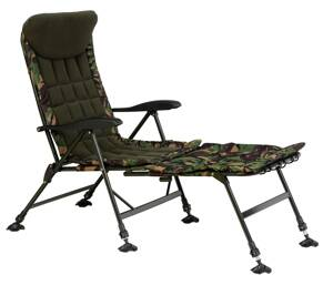 Sedačka Giants Fishing Komfy 2in1 Camo Chair
