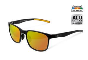 Polarizačné okuliare Delphin SG BLACK oranžové sklá 88757abd3b7