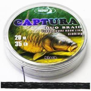 Pletenka Katran Duo CAPTURA Black 20lb 20m