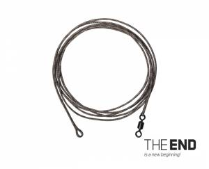 Delphin Nadväzec THE END Leadcore + swivel / 3ks - 1m