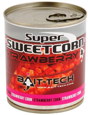 Bait-Tech Kukurice Super Sweetcorn Strawberry 300g