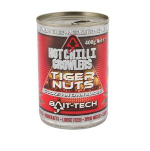 Bait-Tech Tigrí orech v náleve Hot Growlers Tiger Nuts 400g