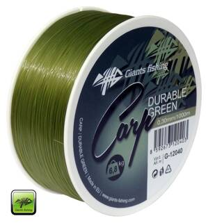 Vlasec Giants Fishing Carp Durable Green 0,35mm/1000m