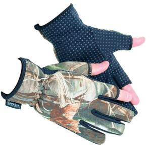 Rukavice Snowbee CAMO NEOPRENE GLOVES, vel XL