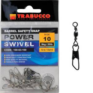 Trabucco karabinka s obratlíkom Barrel Safety Snap 12ks