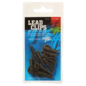 Giants Fishing Záves na záťaž Lead clips with pin Green/10pc