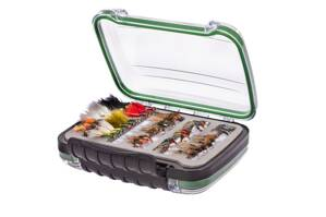 Krabička Snowbee Easy-Vue Waterproof Fly Box - L